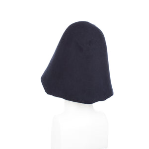 Millinery Supplies UK Navy 90g Wool Felt Hood