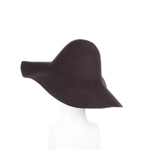 Millinery Supplies UK Chocolate 120g Wool Felt Capeline