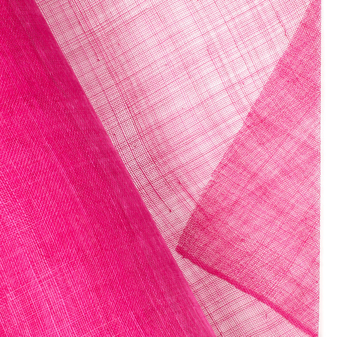 Millinery Supplies UK Cerise Taaslang Grade Sinamay