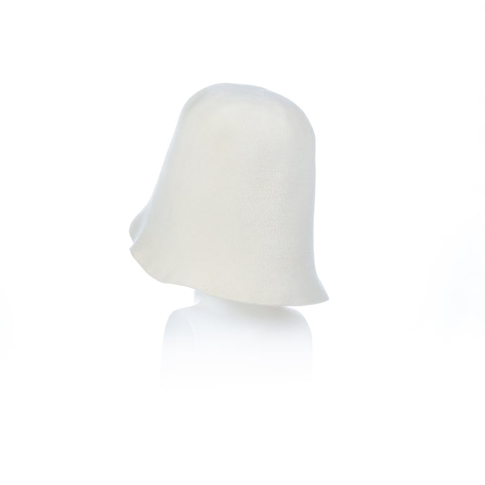 Millinery Supplies UK Off White Velour Peachbloom Hood