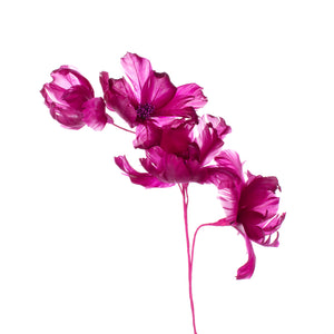 Millinery Supplies UK Flieder Magnolia Feather Flower