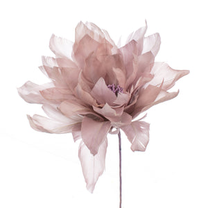 Millinery Supplies UK Dove Feather Dahlia