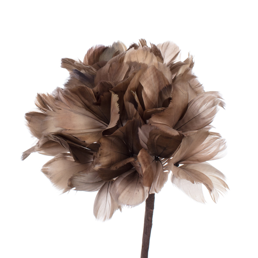 Millinery Supplies UK Dove Feather Hydrangea