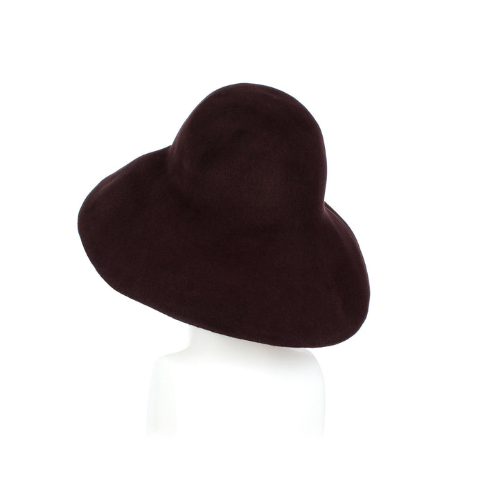 Millinery Supplies UK Chocolate Fur Felt Capeline