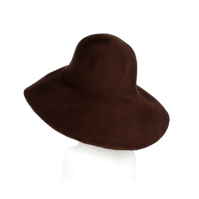 Donkey Brown Fur Felt Capeline Millinery Supplies UK