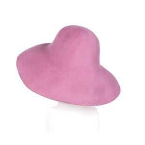 Millinery Supplies UK Pink Fur Felt Capeline