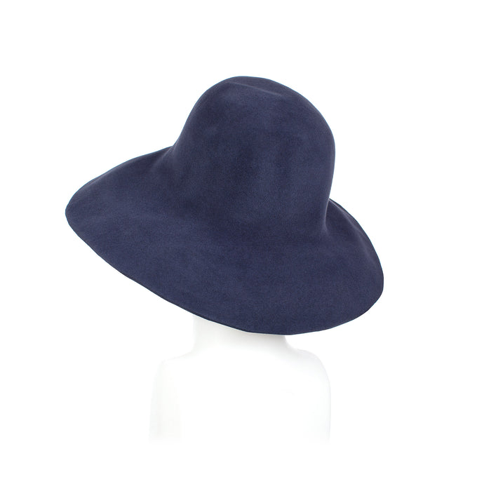 Millinery Supplies UK Blue/Grey Fur Felt Capeline