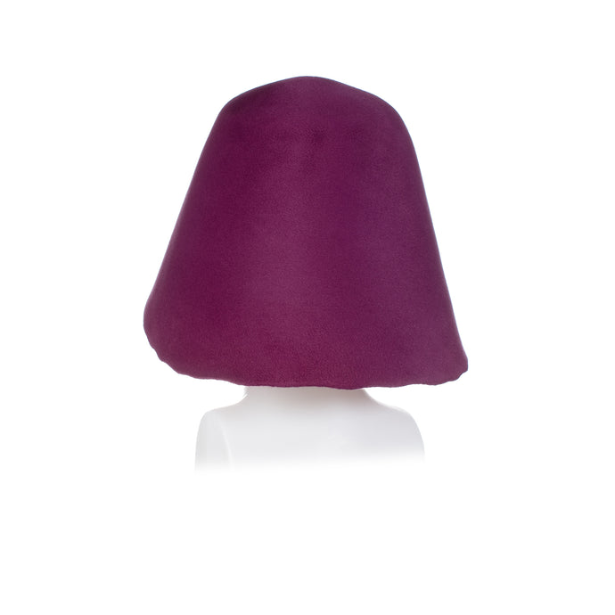 Millinery Supplies UK Vintage Peachbloom Hood - Light Magenta