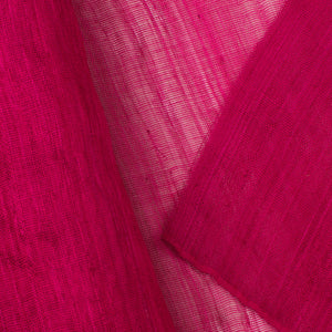 Fuschia PP Abaca Cloth Millinery Supplies UK