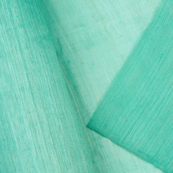 Mint Green PP Abaca Cloth Millinery Supplies UK