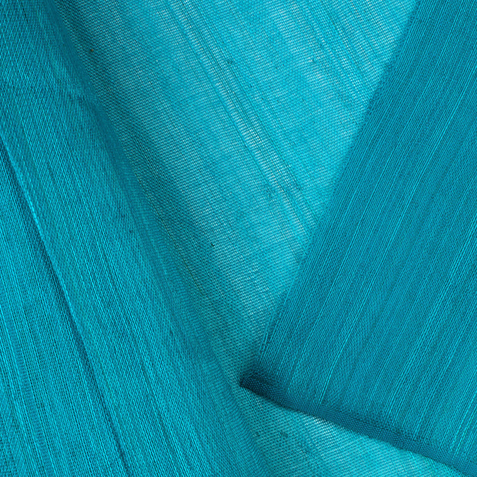 Turquoise PP Abaca Cloth Millinery Supplies UK