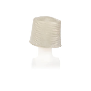 Millinery Supplies UK Bleached T2265 Parasisol Cone 7 x 6""