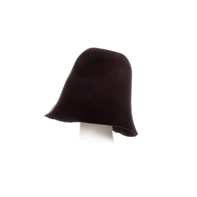 Millinery Supplies UK Black Tulip Velour Peachbloom Hood