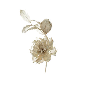 Gazelle Feather Peony Millinery Supplies UK
