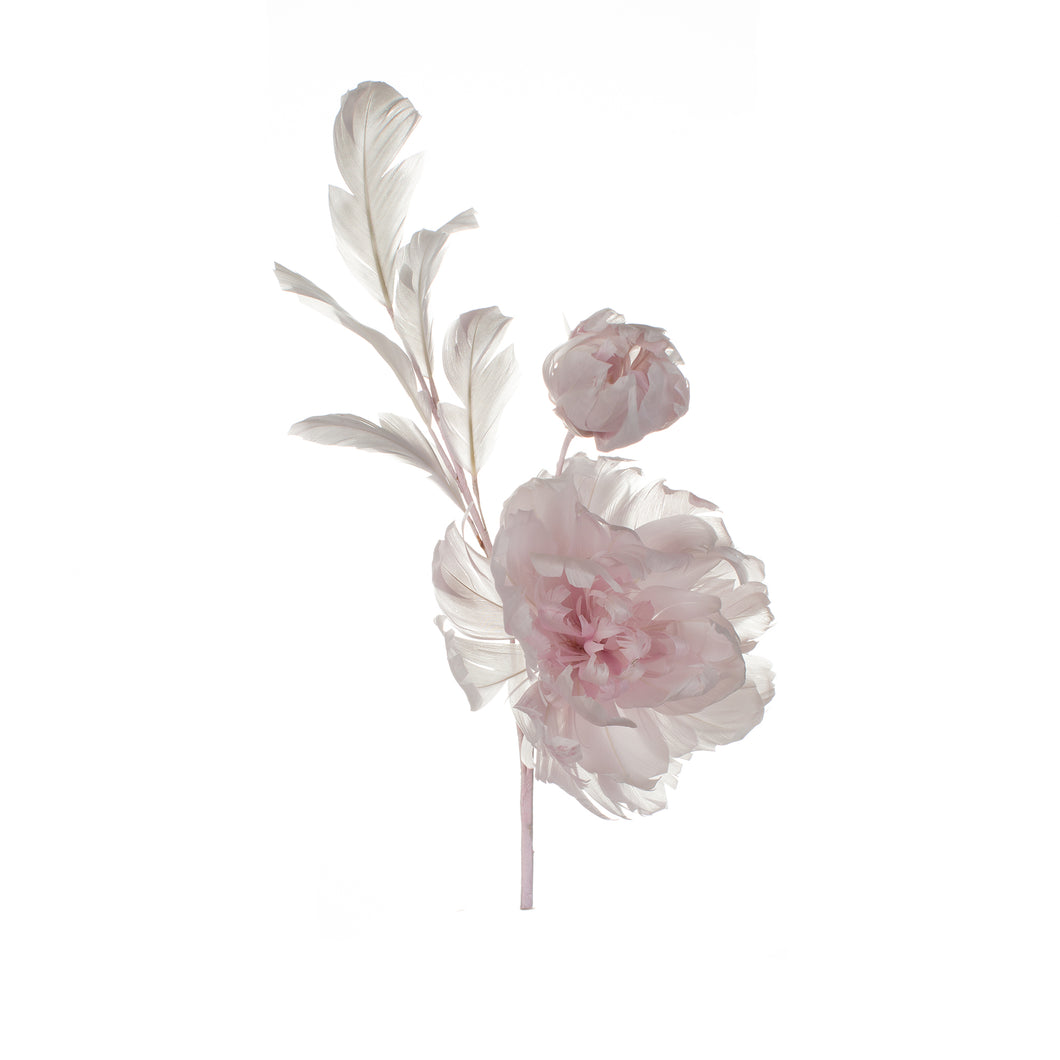 Heather Feather Peony Millinery Supplies UK