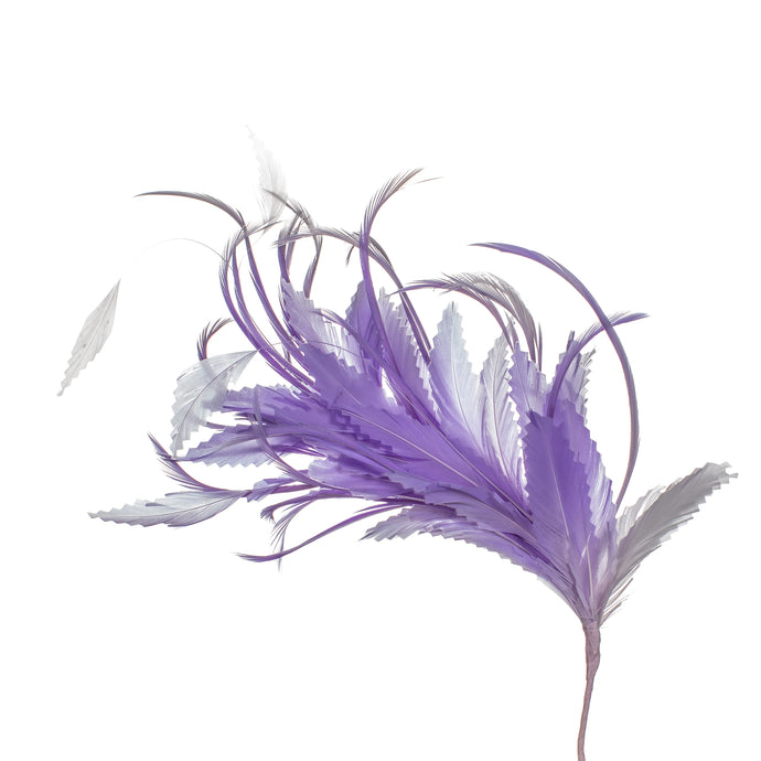 Millinery Supplies UK Liliac Feather Spray