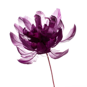 Millinery Supplies UK Purple Crysanthemum