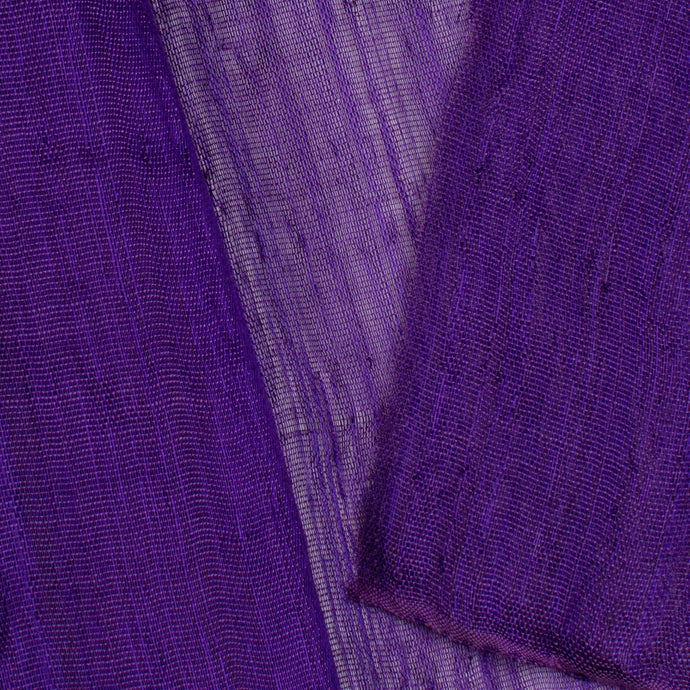 Purple PP Abaca Cloth Millinery Supplies UK