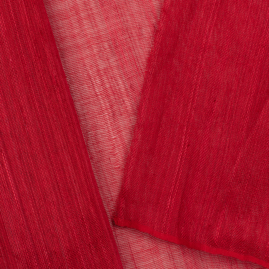 Red PP Abaca Cloth Millinery Supplies UK