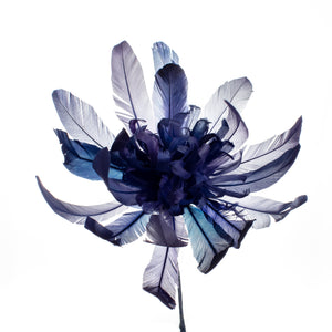 Millinery Supplies UK Sapphire Crysanthemum