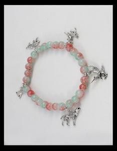 Animal Inspired Multicolored Bracelet