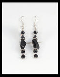 Black and Silver Evening Necklace