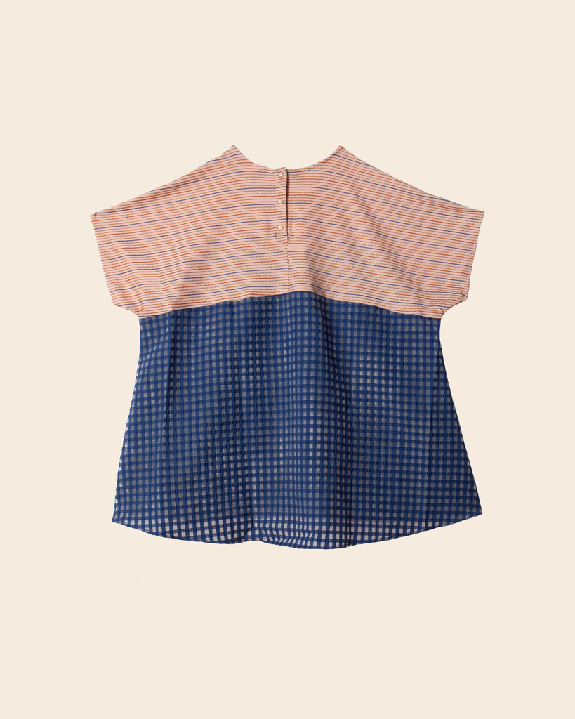 Tala Top - Pink/Blue