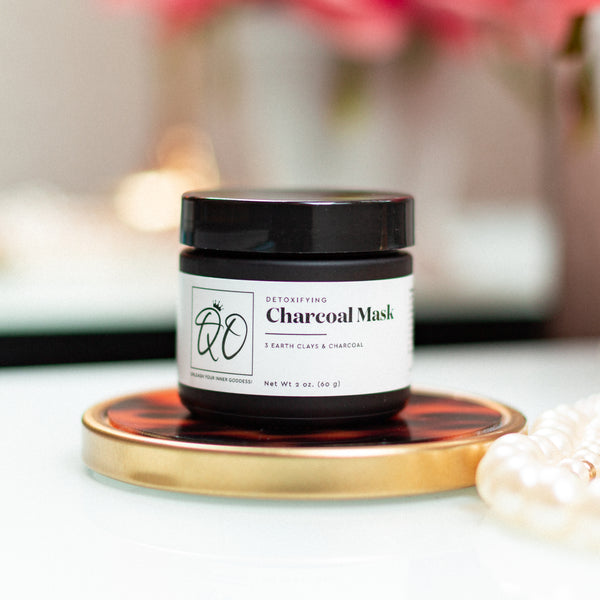 Queen Oshun's 3 Clays Charcoal Mask