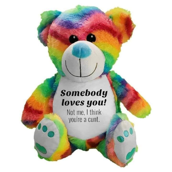 Rainbow Bear - Somebody Loves you.