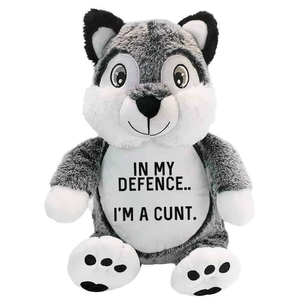 In my defence.... Plush AF Wolf