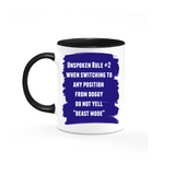 Unspoken Rules of Sex - Set of 4 mugs