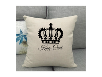 King Cunt Cushion Cover