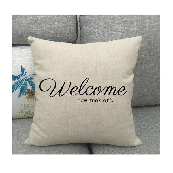 Welcome Cushion
