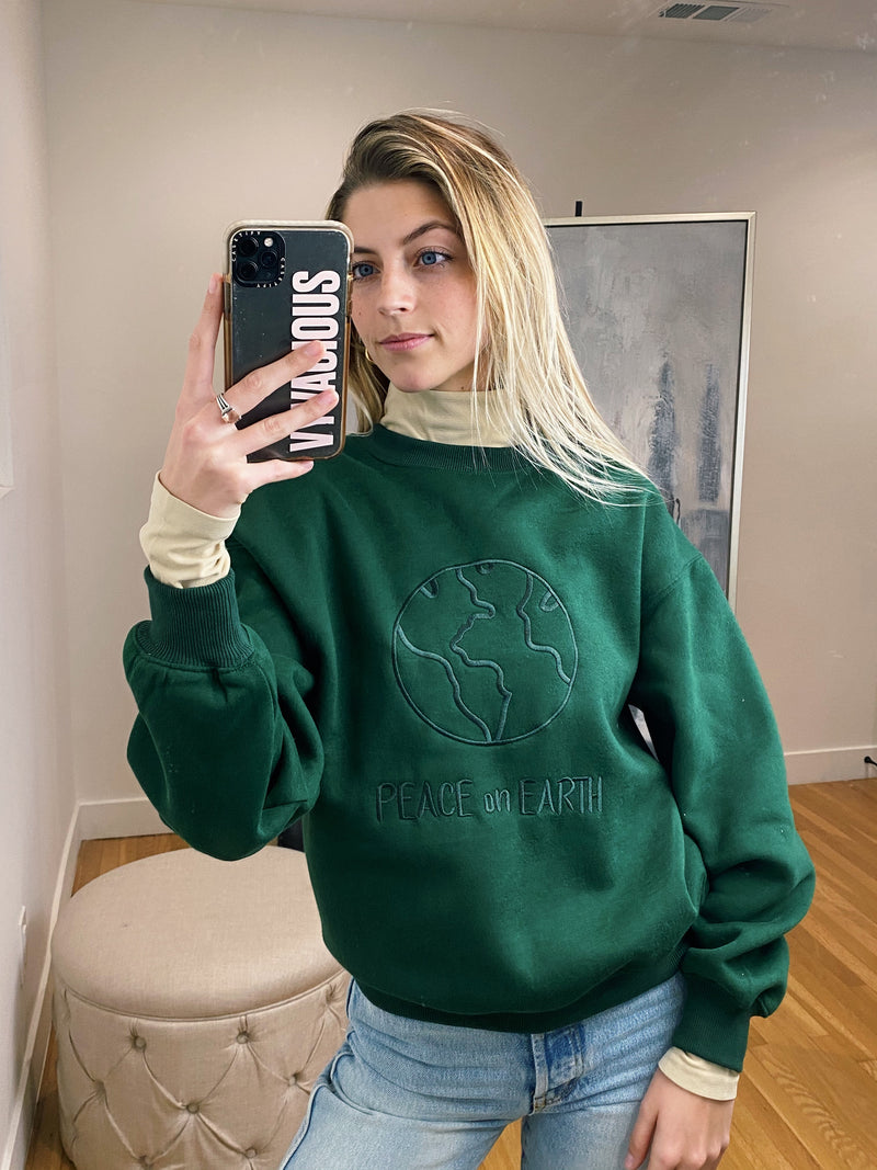 Peace on Earth Crewneck