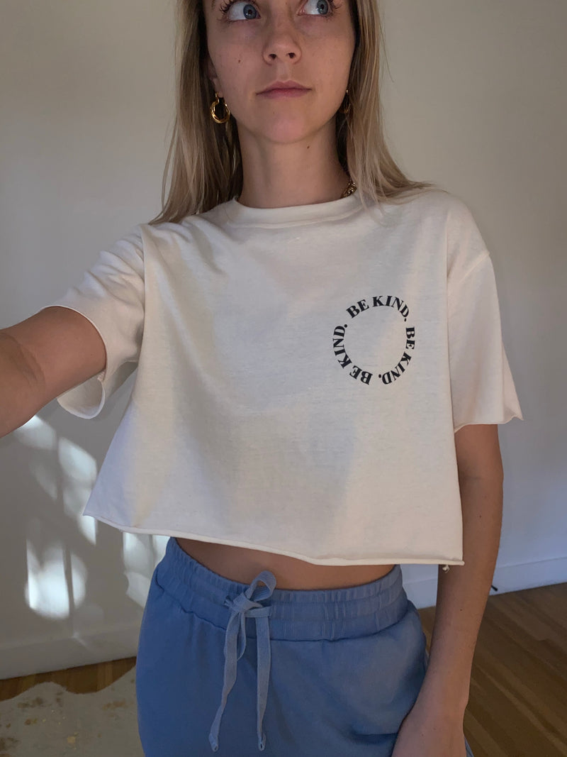 Be Kind Crop Top