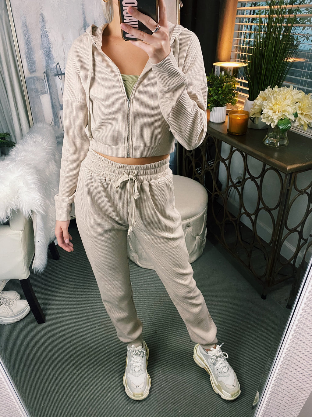 Lemon Jogger Set