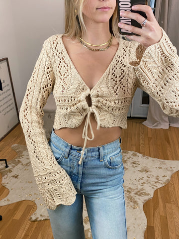 Criss Cross Long Sleeve