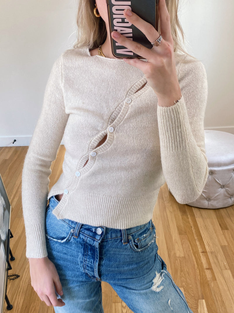 Sideways Sweater