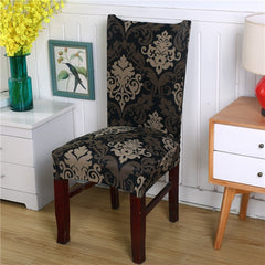 Flower Printing Removable Chair Cover Stretch Elastic Slipcovers