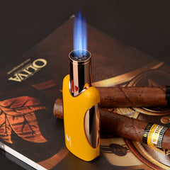 Cigar Lighter Windproof Refillable Luxury Gift Box Packing