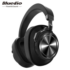 Bluedio T6 Active Noise Cancelling Headphones Wireless Bluetooth Headset with microphone