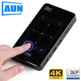 AUN MINI Projector D7 (Memory 2G+16G Optional) Built-in Android WIFI