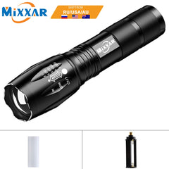 ZK60 HI TECH 8000LM  Zoomable Flashlight