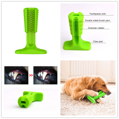 Dog Toothbrush Toy Bristly Brushing Stick Pet Molars Toothbrush for Dogs