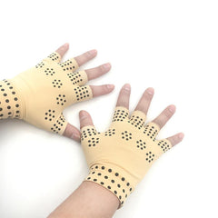 Arthritis Compression Gloves With Magnets Therapeutic Therapy Dispensing Gloves Relief Hand Pain Heal Joints Relief
