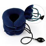 Inflatable Cervical Neck Back Traction Device for Pain Relief