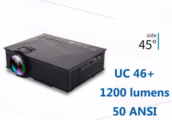 Home Theatre Wireless Projector Support Miracast Airplay UNIC UC68