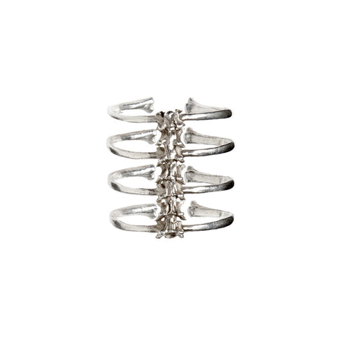4 Ribs Spine Ring