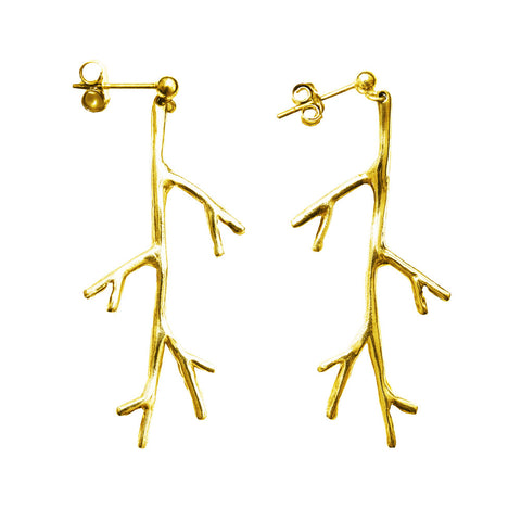 Small Branch Dangle Earring