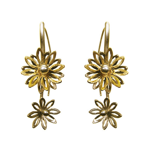 Small Bloom Flower Earring
